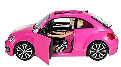 Barbie Volkswagen the Beetle Car and Doll
